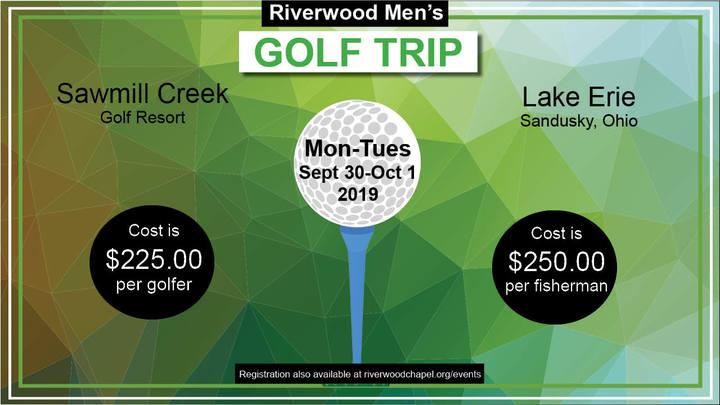 Men's Golf Retreat logo image