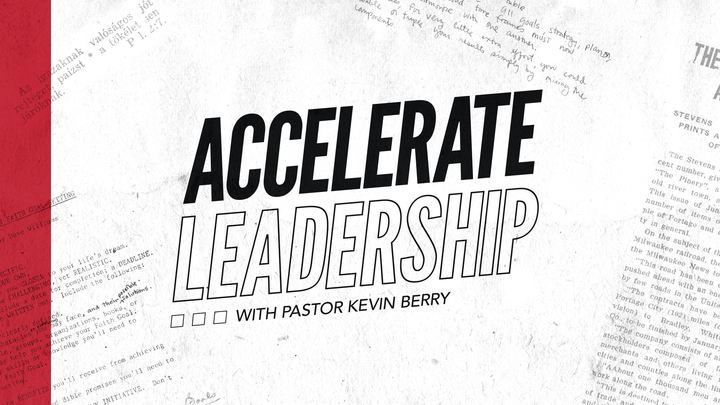 Accelerate with Pastor Kevin logo image