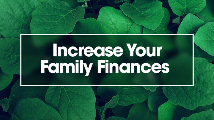 Increase Your Family Finances logo image