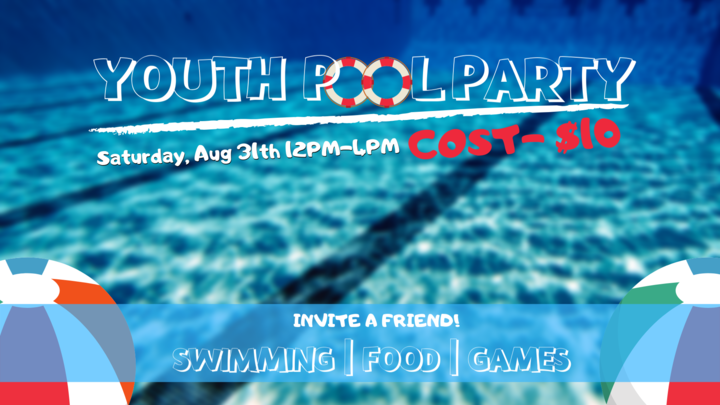 Youth Pool Party - Ages 13-18 logo image