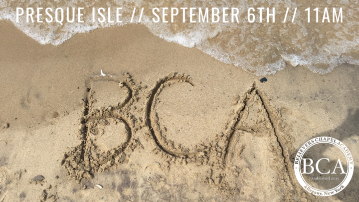 BCA Beach Bash logo image