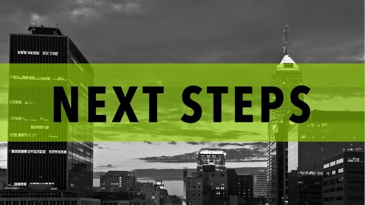 Next Steps - October logo image