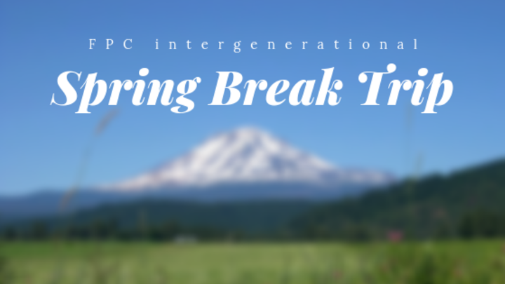 Intergenerational Spring Break Trip logo image