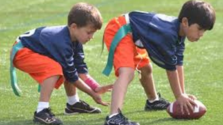 """Family Flag Football / And planned games for the """"littles"""" logo image"""
