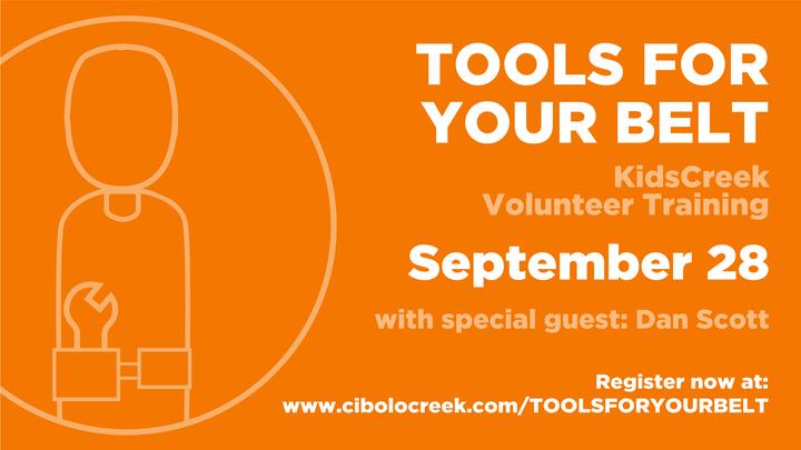 Kids Creek Volunteer Training: Tools for Your Tool Belt logo image