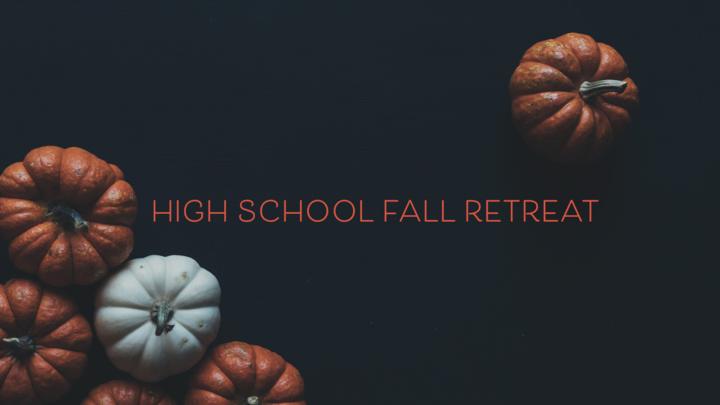 High School Fall Retreat logo image