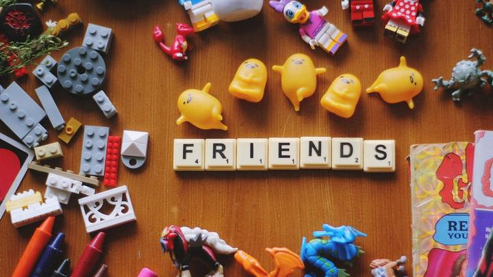 "LH Families Table Talk ""Godly Friendships"" logo image"