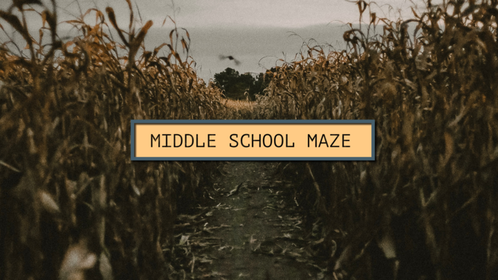 Middle School Maze Madness logo image