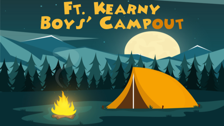 Elementary Boys' Fall Campout - Kearney Campus logo image