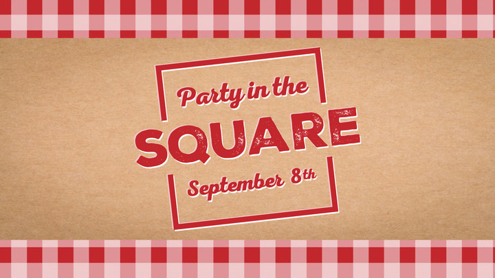 PARTY IN THE SQUARE '19 logo image