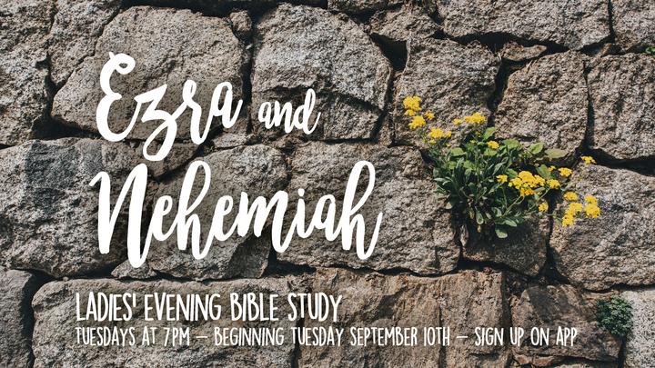 Ladies Bible Study (Ezra Nehemiah) logo image