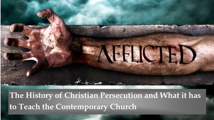 "Rector's Forum: ""Afflicted: The History of Christian Persecution and what it has to Teach the Contemporary Church"" logo image"