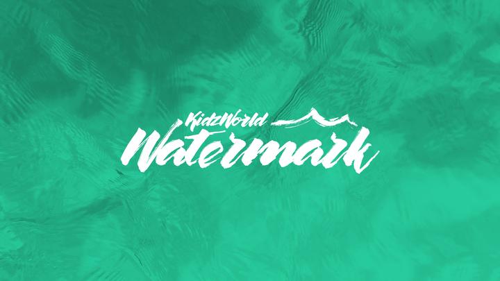 KidzWorld Watermark logo image