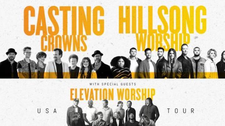 Casting Crowns / Hillsong Worship / Elevation Worship Tour 2019  logo image