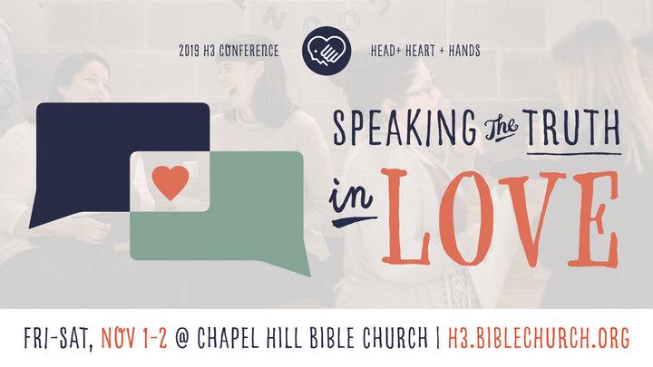 2019 H3 Conference: Speaking the Truth in Love logo image