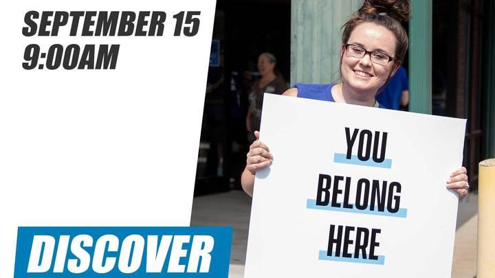 Discover Class | September 15 logo image