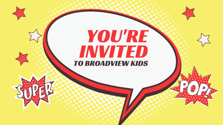 Broadview Kids Pre-Registration logo image