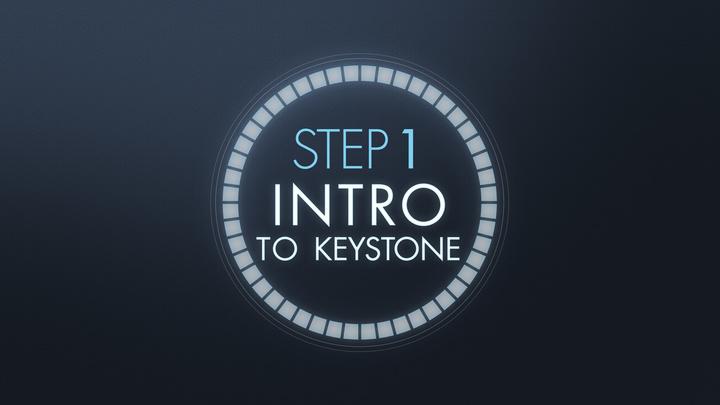 Step 1: Intro to Keystone (1/5/20) 5:15pm Session logo image
