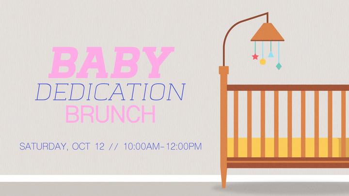 Baby Dedication Brunch logo image