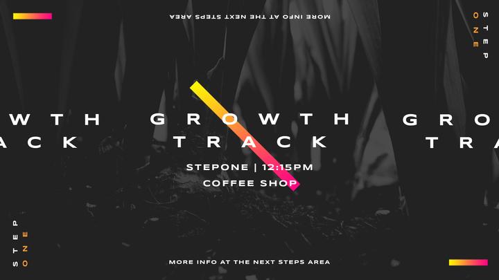 Growth Track - stepONE logo image