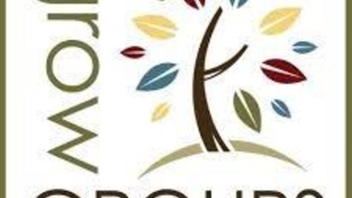 Round 1 Grow Groups logo image