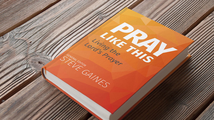 Pray Like This logo image