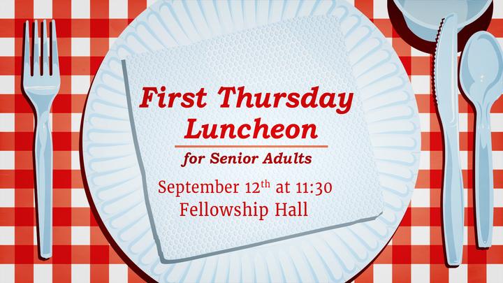 September Senior Adult Luncheon logo image
