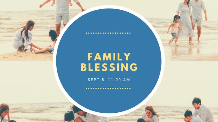 Family Blessing  logo image