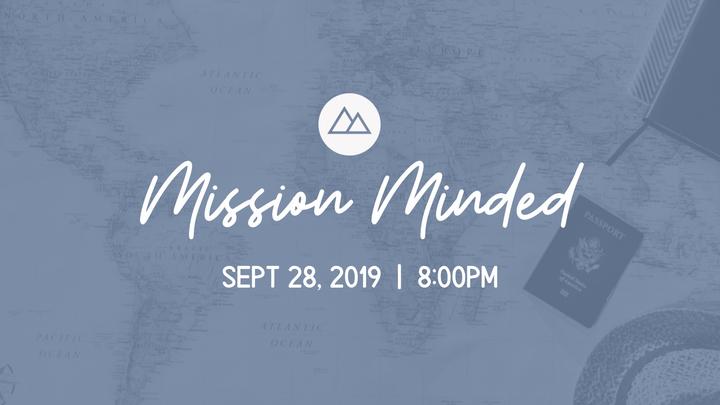 Mission Minded logo image