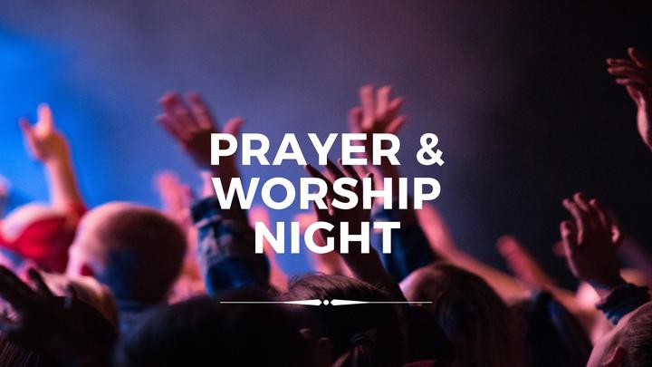 Prayer & Worship Night   09.06.19 logo image