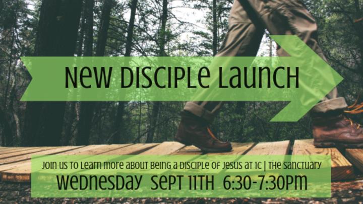 New Disciple Launch logo image