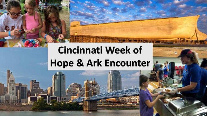 Cincinnati Week of Hope & Ark Encounter logo image