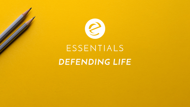 Essentials Class - Defending Life logo image