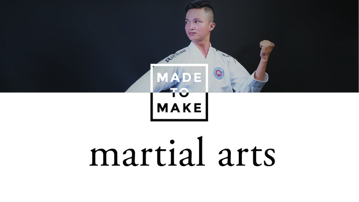 Made to Make: Martial Arts logo image
