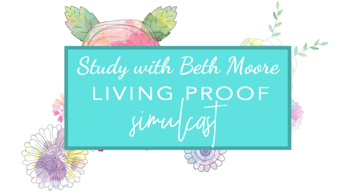 Beth Moore Living Proof Simulcast logo image