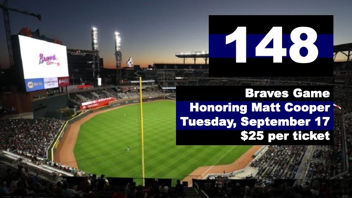Braves Game Honoring Matt Cooper logo image