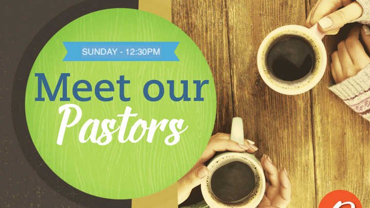 Meet our Pastors logo image