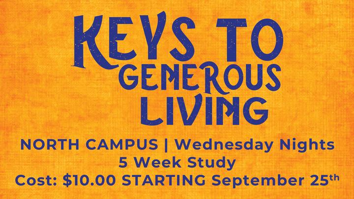 Keys to Generous Living logo image