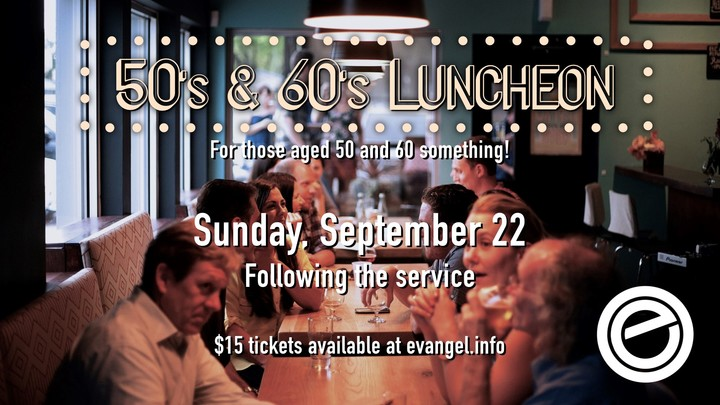 50's & 60's Luncheon logo image