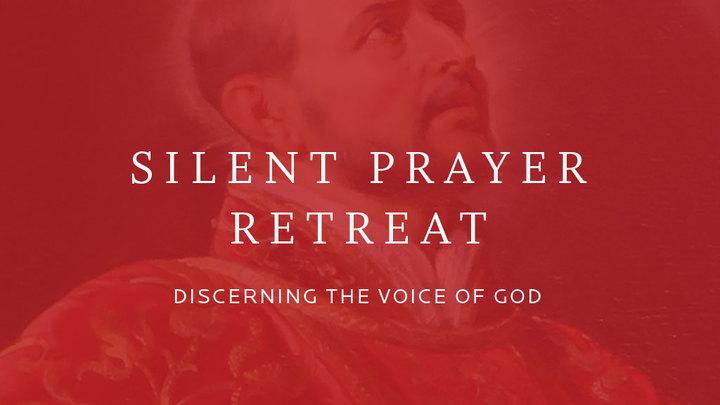 Silent Prayer Retreat: Discerning the Voice of God logo image