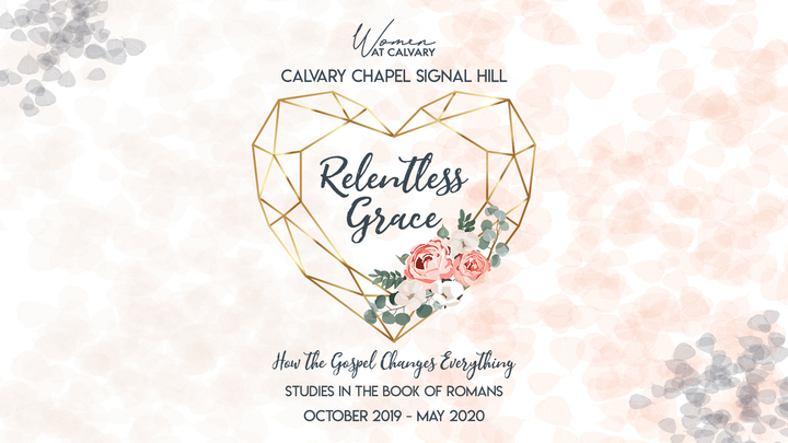 Relentless Grace - Women's Bible Study Series logo image