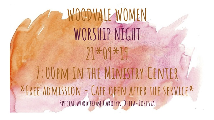 Woodvale Women Worship Night logo image