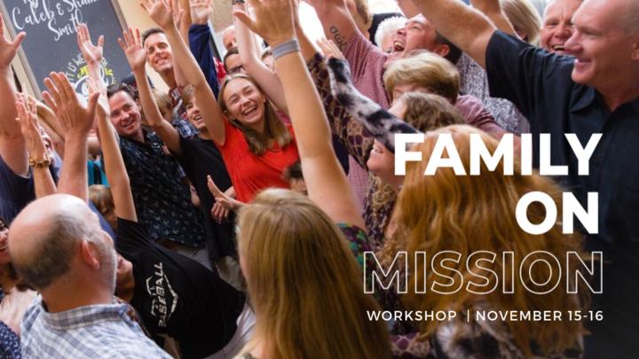 Spiritual Parenting | Family on Mission Workshop Series logo image