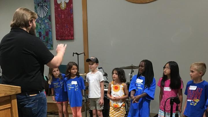 Music Camp at South Dayton Presbyterian Church  logo image