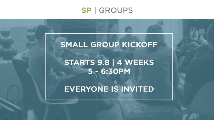 Small Group Kick Off logo image