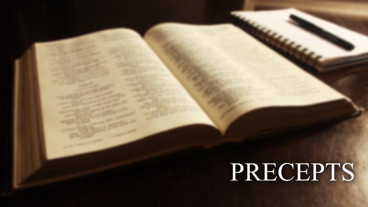 Precepts: The Gospel of Mark (Tues) logo image