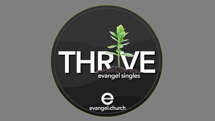 Singles: THRIVE logo image