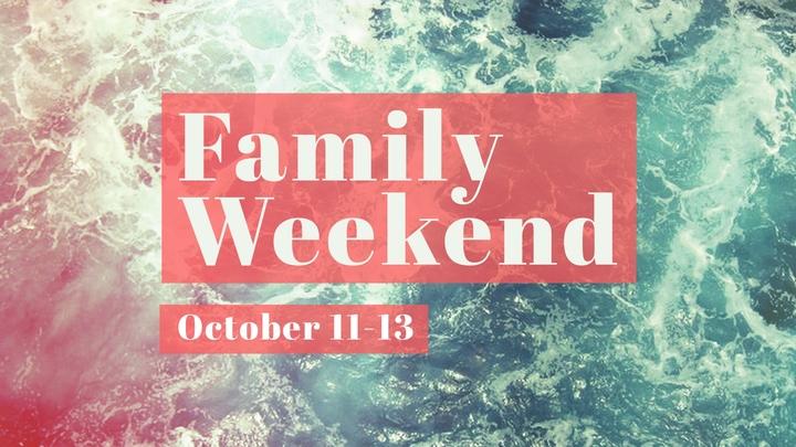 Family Weekend logo image