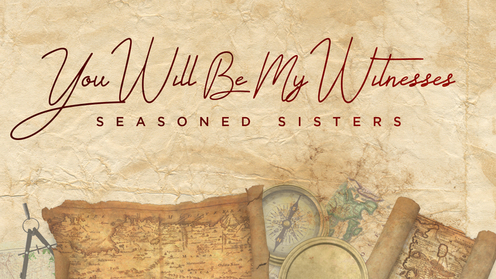 Seasoned Sisters | You Will Be My Witnesses logo image