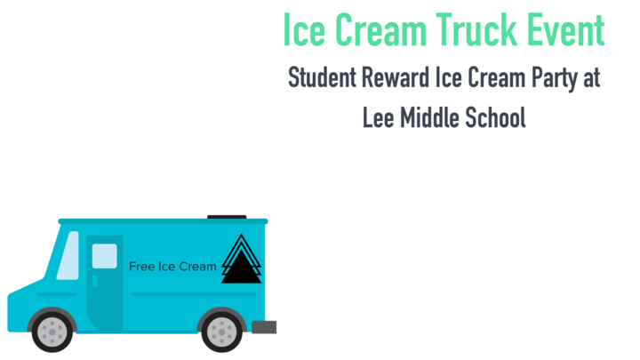 Student Reward Ice Cream Party @ Lee Middle School logo image